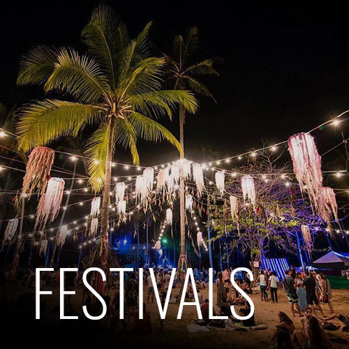 Estéreo Beach es el festival principal que se ha realizado cerca o en nuestras instalaciones. Ahora transformado en un nuevo formato y nuevo nombre, El Baile Sagrado, se celebra cada Viernes Santo del año, escuchando lo mejor de artistas nacionales e internacionales, que combinan a su sonido ritmos latinos. No quedes sin tu entrada!