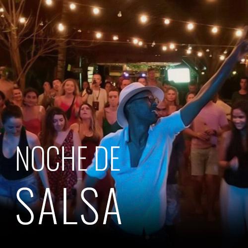 Nuestra tradicional salsa night, 9pm clases gratis de salsa y ritmos latinos, al terminar la clase tenemos fiesta latina cada viernes de la semana